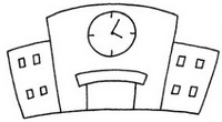 学校怎么画简笔画图解