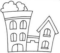 别墅怎么画简笔画图解