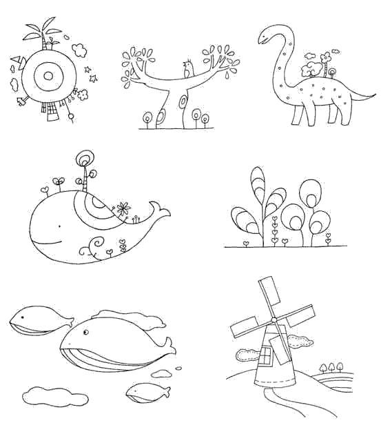 小学生简笔画教案_幻想、科幻简笔画大全