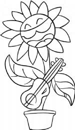 吉他花儿简笔画图片教程