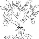 哭泣的树简笔画图片教程