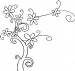 花树简笔画图片教程