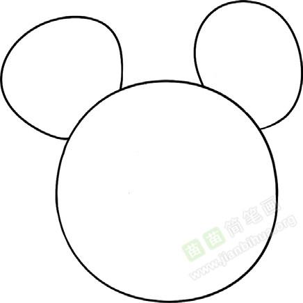 老鼠简笔画图片教程 一