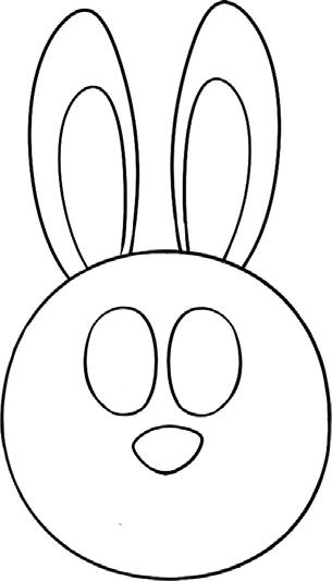 兔子简笔画图片教程 一