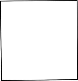 用正方形画出一只小熊的简笔画?首先第一步,在画纸上画出一个大