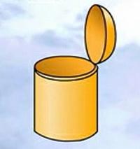 废纸篓(垃圾桶)简笔画_废纸篓怎么画简笔画视频教