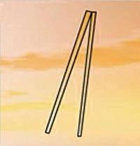 筷子简笔画_筷子怎么画简笔画视频教程