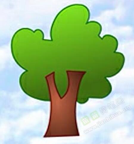 树的简笔画 树怎么画简笔画视频教程