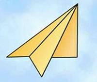 纸飞机简笔画_纸飞机怎么画简笔画视频教程