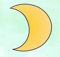 月亮简笔画_月亮怎么画简笔画视频教程
