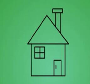 房子简笔画 房子怎么画简笔画视频教程