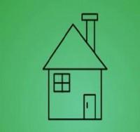 房子简笔画_房子怎么画简笔画视频教程