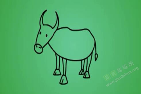 牛的简笔画教程 牛怎么画视频教程