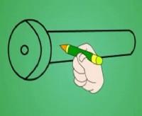 手电筒简笔画_手电筒怎么画简笔画视频教程