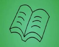 书的简笔画_书怎么画简笔画视频教程