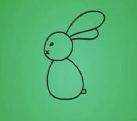 兔子简笔画教程_兔子怎么画视频教程