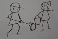 男孩、女孩简笔画视频教程