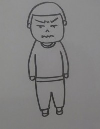 男孩简笔画_男孩怎么画简笔画视频教程