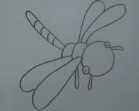 蜻蜓简笔画_蜻蜓怎么画简笔画视频教程