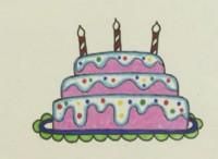 蛋糕简笔画教程_蛋糕怎么画视频教程
