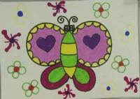 蝴蝶简笔画怎么画视频教程