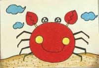 螃蟹简笔画_螃蟹怎么画简笔画视频教程