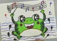 青蛙简笔画教程_青蛙怎么画视频教程