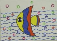 热带鱼简笔画教程_热带鱼怎么画视频教程
