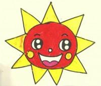 太阳简笔画_太阳怎么画简笔画视频教程
