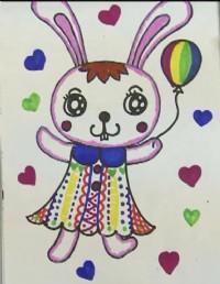 小兔子简笔画_小兔子怎么画简笔画视频教程