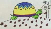 小乌龟简笔画_小乌龟怎么画简笔画视频教程