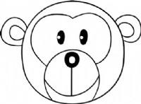 猴子简笔画图片教程(二)