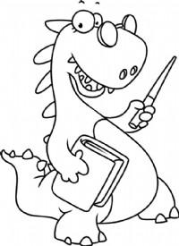 恐龙简笔画图片教程(二)