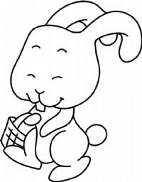 小兔子简笔画图片教程