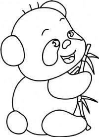 熊猫简笔画图片教程(一)