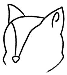 狐狸简笔画