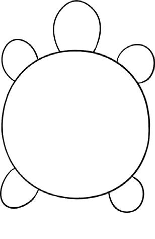 乌龟简笔画图片教程(一)