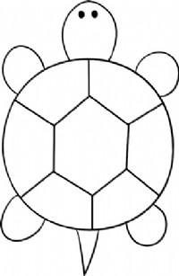 乌龟简笔画图片教程 一