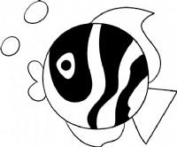 小鱼简笔画图片教程