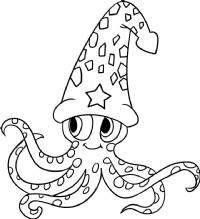 小章鱼简笔画图片教程