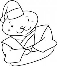 海狮简笔画图片教程(四)