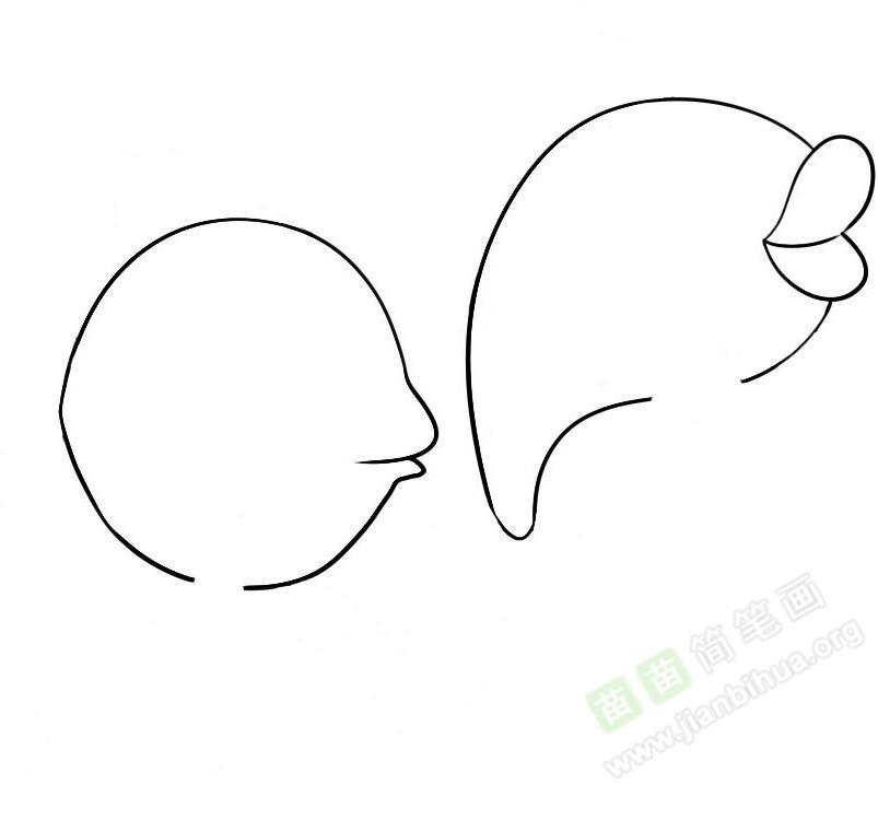 鲤鱼简笔画图片教程