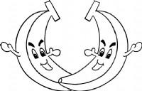 香蕉简笔画图片教程(一)