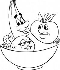 水果拼盘简笔画图片教程