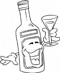 葡萄酒简笔画图片教程