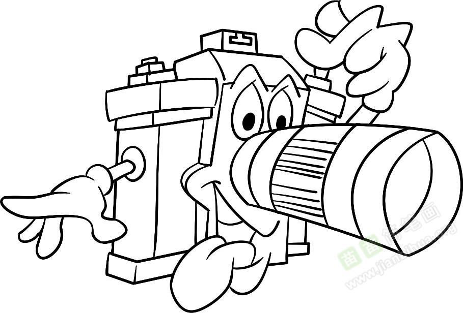 照相机简笔画图片教程