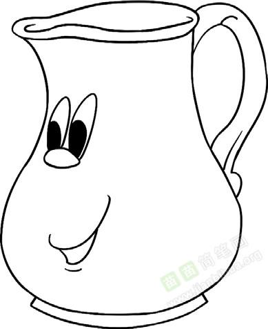 茶杯简笔画图片教程