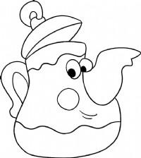 茶壶简笔画图片教程