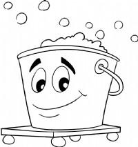 水桶简笔画图片教程