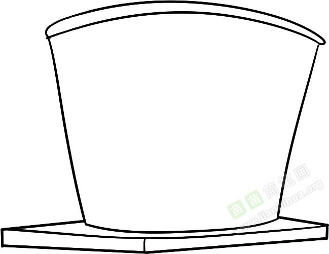 水桶简笔画